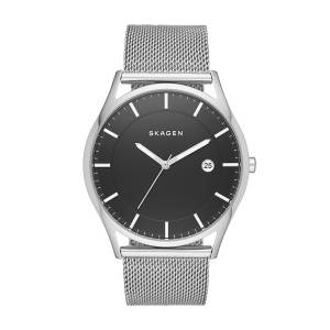 [スカーゲン]Skagen 腕時計 Holst Stainless Steel Mesh Watch SKW6284 メンズ