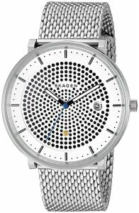 [スカーゲン]Skagen  Hald Stainless Steel Mesh Analog Quartz Casual Watch SKW6278 メンズ