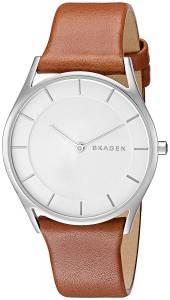 [スカーゲン]Skagen 腕時計 Holst Dark Brown Leather Watch SKW2453 レディース