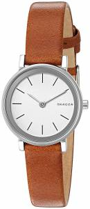 [スカーゲン]Skagen 腕時計 Hald Dark Brown Leather Watch SKW2440 レディース