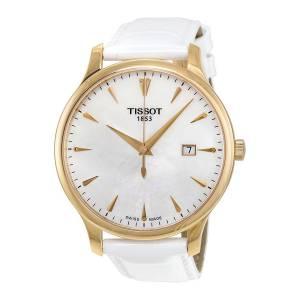 [ティソ]Tissot 腕時計 Tradition Leather Watch T0636103611601 T063.610.36.116.01