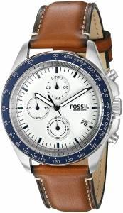 [フォッシル]Fossil 腕時計 Sport 54 Chronograph Brown Leather Watch CH3029 メンズ