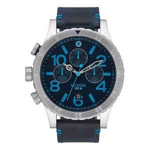 [ニクソン]NIXON 腕時計 Watch 4820 Chrono Leather A3632219 [並行輸入品]