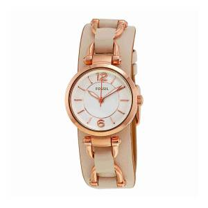 [フォッシル]Fossil 腕時計 Georgia Artisan White Dial Watch ES3934 [並行輸入品]