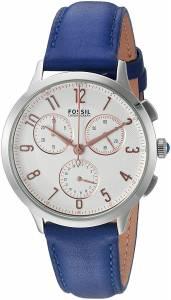 [フォッシル]Fossil  Abilene Stopwatch Chronograph IndigoDyed Leather Watch CH3032