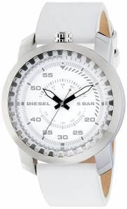 [ディーゼル]Diesel 腕時計 Rig Stainless Steel White Leather Watch DZ1752 メンズ