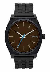 [ニクソン]NIXON  'Time Teller' Quartz Stainless Steel Watch, Color:Black A045019-00 メンズ