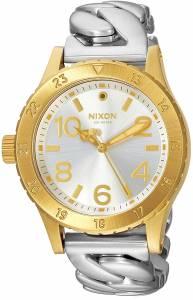 [ニクソン]NIXON  '3820' Quartz Stainless Steel Watch, Color:SilverToned A4102281-00