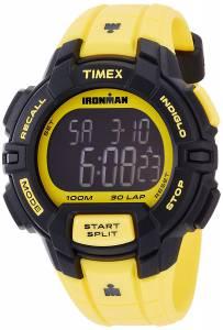 [タイメックス]Timex Ironman 30Lap Rugged Full Size Yellow Resin Strap Chronograph TW5M02600