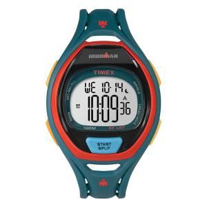 [タイメックス]Timex Ironman 150Lap Full Size Sleek Blue Resin Strap Chronograph TW5M01400