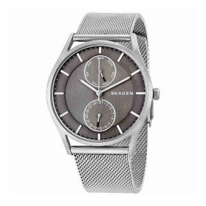 [スカーゲン]Skagen  'Holst' Quartz Stainless Steel Casual Watch, Color:SilverToned SKW1073