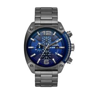 [ディーゼル]Diesel 腕時計 Overflow Gunmetal Watch DZ4412 メンズ [並行輸入品]