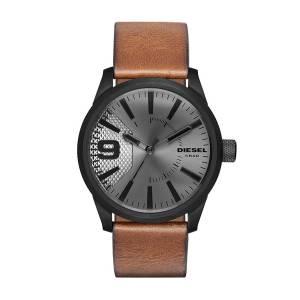 [ディーゼル]Diesel 腕時計 Rasp Brown Leather Watch DZ1764 メンズ [並行輸入品]
