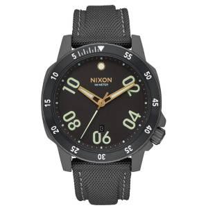 [ニクソン]Nixon  Ranger Leather A9421418 Wristwatch Design Highlight Ranger Nylon メンズ