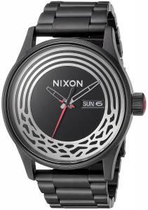 [ニクソン]NIXON 'Star Wars Kylo' Quartz Stainless Steel Casual Watch, Color:Black A356SW2444-00