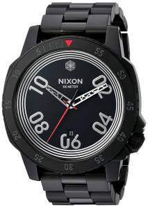 [ニクソン]NIXON 'Star Wars Kylo' Quartz Stainless Steel Casual Watch, Color:Black A506SW2444-00