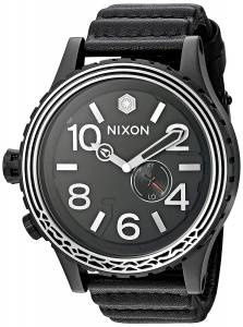 [ニクソン]NIXON  'Star Wars Kylo' Swiss made quartz Leather Casual Watch, A1063SW2444-00