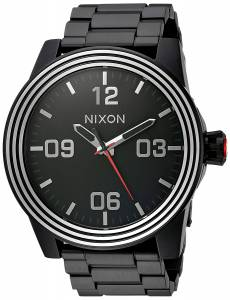 [ニクソン]NIXON 'Star Wars Kylo' Quartz Stainless Steel Casual Watch, Color:Black A346SW2444-00