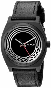 [ニクソン]NIXON 'Star Wars Kylo' Quartz Stainless Steel and Leather Casual Watch, A1069SW2444-00