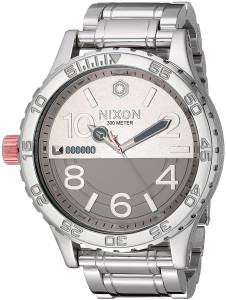 [ニクソン]NIXON 腕時計 Star Wars 5130 SW 51mm Watch Phasma Silver A172SW2445-00