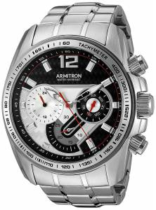 [アーミトロン]Armitron 腕時計 20/5149BKSV メンズ [並行輸入品]