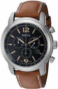 [フォッシル]Fossil 腕時計 Swiss Made Chronograph Leather Watch Tan FSW7005 [並行輸入品]