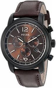 [フォッシル]Fossil  Swiss FS5 Series Quartz Chronograph Leather Watch ? Chocolate FSW7008