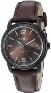 [フォッシル]Fossil  Swiss FS5 Series ThreeHand Date Leather Watch ? Chocolate FSW1007
