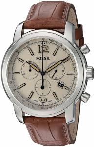 [フォッシル]Fossil  Swiss FS5 Series Quartz Chronograph Alligator Watch ? Brown FSW7007