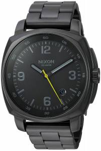 [ニクソン]NIXON  'Charger' Quartz Metal and Stainless Steel Watch, Color:Grey A1072632-00