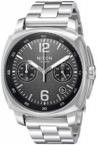 [ニクソン]NIXON  'Charger Chrono' Quartz Metal and Stainless Steel Watch, A1071000-00 メンズ