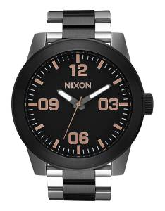 [ニクソン]NIXON The Corporal SS X High Caliber Collection Black/Rose Gold Watch A346-2051
