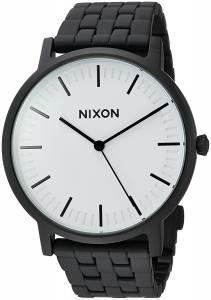 [ニクソン]NIXON  'Porter' Quartz Metal and Stainless Steel Watch, Color:Black A10572493-00