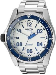 [ニクソン]NIXON 'Descender' Quartz Stainless Steel Casual Watch, Color:SilverToned A9592450-00