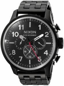 [ニクソン]NIXON  'Safari Dual Time' Swiss Quartz Stainless Steel Casual Watch, A1081001-00