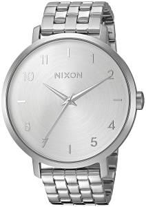 [ニクソン]NIXON 'Arrow' Quartz Metal and Stainless Steel Watch, Color:SilverToned A10901920-00