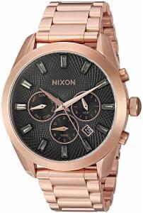 [ニクソン]NIXON  'Bullet Chrono Crystal' Quartz Metal and Stainless Steel Watch, A9312046-00