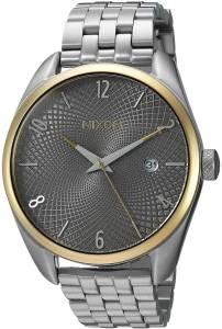 [ニクソン]NIXON 'Bullet' Quartz Metal and Stainless Steel Watch, Color:SilverToned A4182477-00