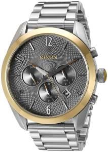 [ニクソン]NIXON  'Bullet Chrono' Quartz Metal and Stainless Steel Watch, A3662477-00