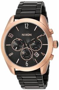 [ニクソン]NIXON  'Bullet Chrono' Quartz Metal and Stainless Steel Watch, A3662481-00