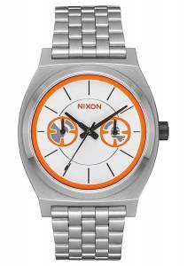[ニクソン]NIXON Time Teller Deluxe Star Wars Collection Bb8 Silver/Orange Watch A922SW2604-00