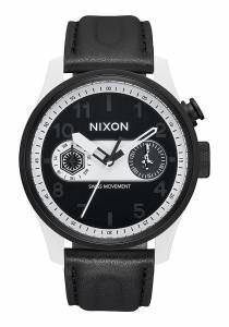 [ニクソン]Nixon 腕時計 Star Wars Safari Deluxe Leather 43mm Stormtrooper White A977SW2243-00