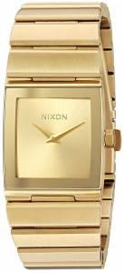 [ニクソン]NIXON  'Lynx' Quartz Metal and Stainless Steel Watch, Color:GoldToned A1092502-00