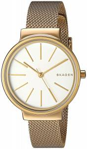 [スカーゲン]Skagen 腕時計 Ancher Gold Mesh Watch SKW2477 レディース [並行輸入品]