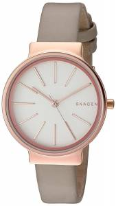 [スカーゲン]Skagen 腕時計 Ancher Beige Leather Watch SKW2481 レディース