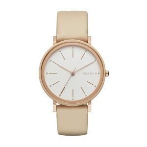 [スカーゲン]Skagen 腕時計 Hald Beige Leather Watch SKW2489 レディース [並行輸入品]