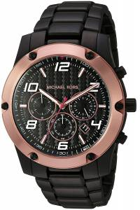 [マイケル・コース]Michael Kors 腕時計 Caine Black Watch MK8513 メンズ