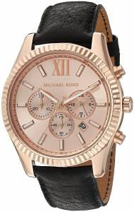 [マイケル・コース]Michael Kors 腕時計 Lexington Rose GoldTone Watch MK8516 メンズ