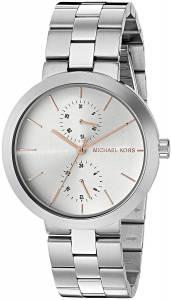 [マイケル・コース]Michael Kors 腕時計 Garner SilverTone Watch MK6407 レディース
