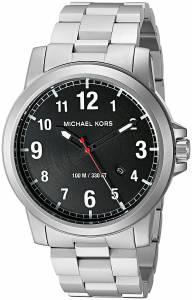 [マイケル・コース]Michael Kors  Paxton Analog Japanese quartz Silver Watch MK8500 メンズ